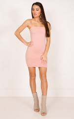 Make You Mine dress in dusty pink