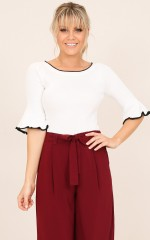 Manage This top in white