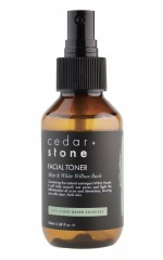 Cedar and Stone - mint and white willow bark face toner