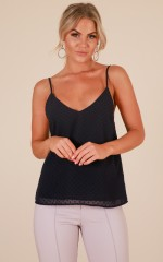 Outsider top in navy