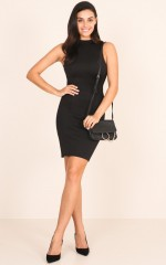 Radar Dress in Black