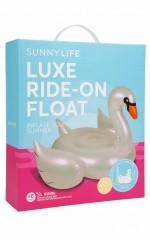 Sunnylife - Ride On Float Pearl Swan
