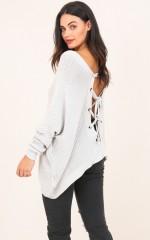Own It knit in grey