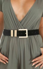 Rocking It belt in black