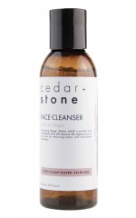 Cedar and Stone - rose and ginger face cleanser