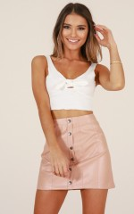 Rule It Out top in white