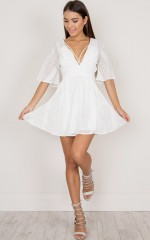 Save This Dance dress in white