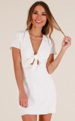 Serene Dreamer dress in white