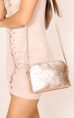 Sleep Walking bag in rose gold