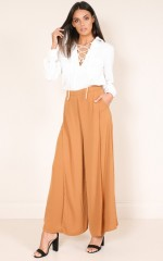 Soho pants in camel