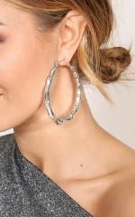 Soul One Earrings in silver