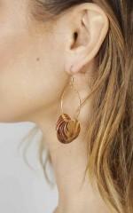 Spiced Honey earrings in gold