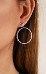 Star Dust earrings in silver