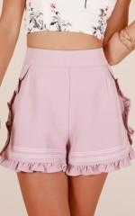 Summer Villa shorts in blush