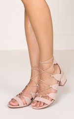 Billini - Tamilla in blush suede