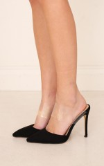 Billini - Thea in black suede