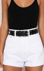 Startle Belt in black