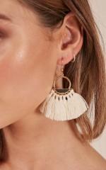 On The Outside earrings in gold