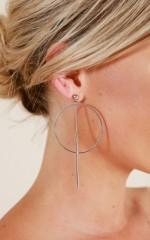 Neptune earrings in silver
