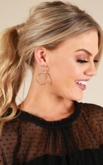To Be Fair earrings in silver