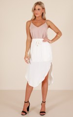 Bold And Brave skirt in white