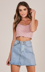 Always With You top in dusty pink