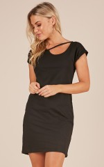 Check With Me dress in black
