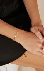 Til The End bracelet in gold