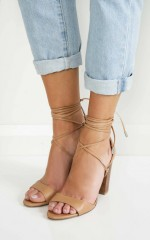 Verali - Celtic Heels in light tan kid