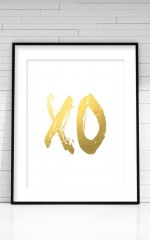 XO White Print in A4