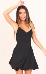 Last Forever dress in black