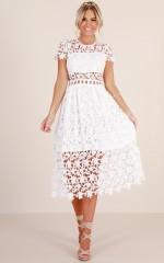 Magic Mystery dress white