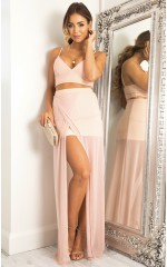 Body Language two piece set in blush