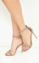Therapy Shoes - Cosmo in concrete kid suede