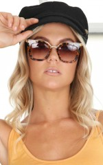 Evelyn sunglasses in tortoise shell