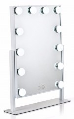 Pro Hollywood Makeup Mirror in white
