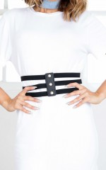 Unstoppable belt in black