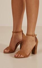 Billini - Aurella Heels in tan nubuck