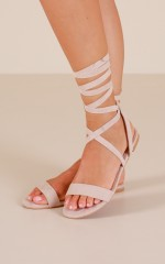 Billini - Devyn in blush suede