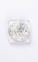 Glitter Dust in Mermaid White
