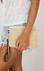 Captivate Bag in beige