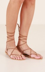 Billini - Ria in tan suede