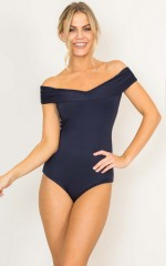 Cute Madonna bodysuit in navy