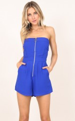 Way It Seems playsuit in royal