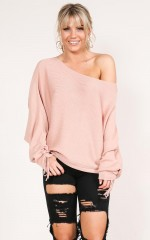 Who You Love knit in nude