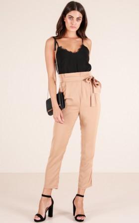So Classy pants in camel