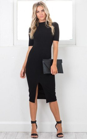 Tall Tales dress in black