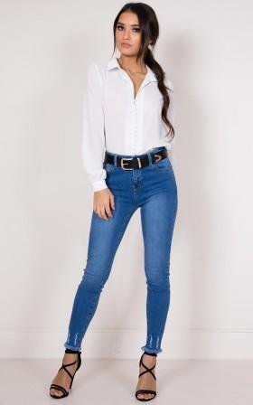 Ayla jeans in dark wash