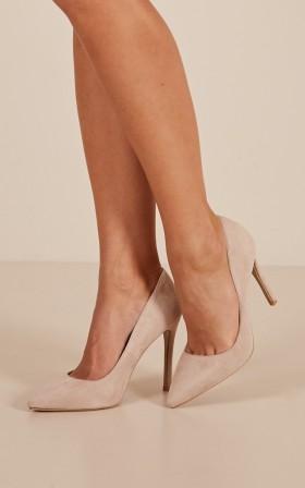 Billini - Faye Heels in nude micro