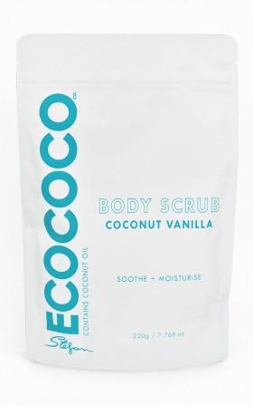 Ecococo - Coconut Vanilla Body Scrub